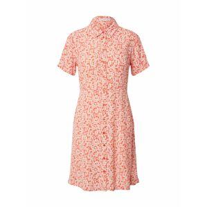 PIECES Košilové šaty 'MONSI'  bílá