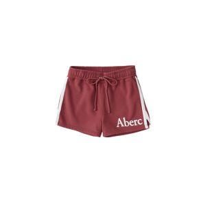 Abercrombie & Fitch Kalhoty 'S119-SUMMER KNIT SHORT'  pastelově červená