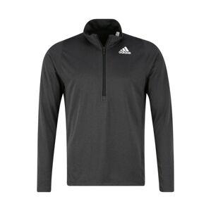 ADIDAS PERFORMANCE Funkční tričko  černý melír