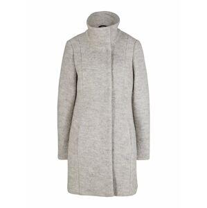 heine Zimní kabát  šedý melír