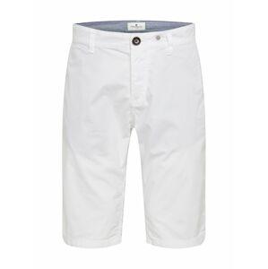 TOM TAILOR Chino kalhoty  bílá