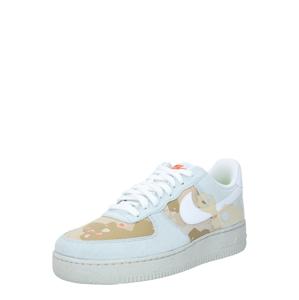 Nike Sportswear Tenisky 'Air Force 1 '07'  světle šedá / pudrová / světle béžová / bílá / grenadina