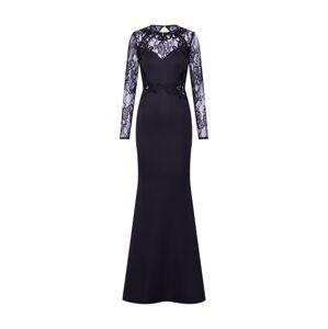 Lipsy Společenské šaty 'WS LS LCE APP MAXI'  černá