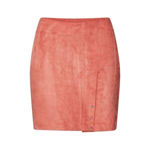 Pop Copenhagen Sukně 'Peach Skin Mini Skirt'  oranžová