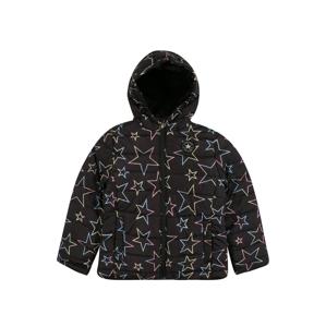 CONVERSE Zimní bunda  černá / mix barev