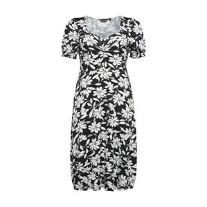Dorothy Perkins Curve Šaty  černá / bílá