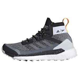 ADIDAS PERFORMANCE Sportovní boty 'Terrex Free Hiker Parley'  šedá / černý melír