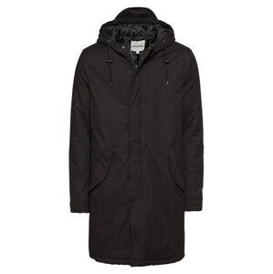 YOURTURN Zimní kabát 'Padded Parka Repeat'  černá