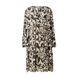 iBlues Košilové šaty 'Balenio'  krémová / černá