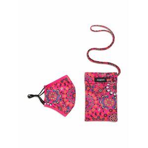 Desigual Látková rouška 'GALACTIC'  mix barev / pink / fuchsiová