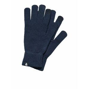 JACK & JONES Prstové rukavice  tmavě modrá