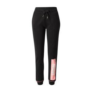 ARMANI EXCHANGE Kalhoty '3HYP78'  pink / černá