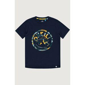 O'NEILL Tričko 'It's Summer'  modrá / žlutá / námořnická modř