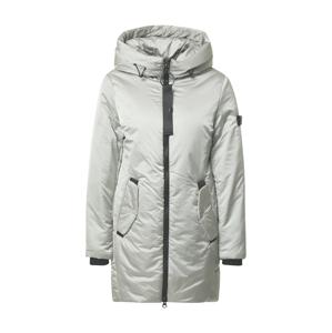 RINO & PELLE Zimní kabát  světle šedá / černá