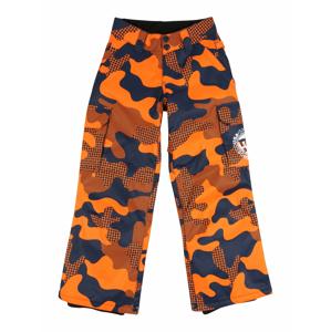 DC Shoes Outodoor kalhoty 'BANSHEE'  oranžová / námořnická modř / bílá