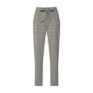 ESPRIT Kalhoty se sklady v pase  světle šedá