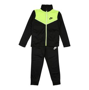 Nike Sportswear Joggingová souprava  světle zelená / černá / bílá