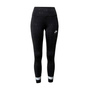 Nike Sportswear Sportovní kalhoty  černá / bílá