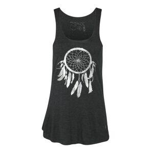 OGNX Funkční tričko 'Dreamcatcher'  antracitová / stříbrně šedá