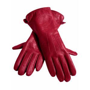 heine Prstové rukavice  červená