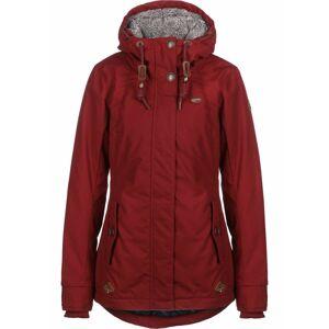 Ragwear Přechodná bunda 'Monade'  pastelově červená