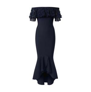 Forever Unique Společenské šaty 'Navy'  námořnická modř