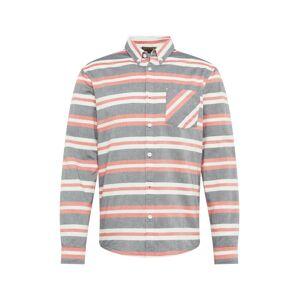 Review Košile 'OXFRD WIDESTRIPE'  námořnická modř / červená