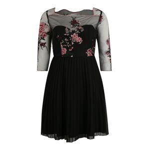 Chi Chi Curve Koktejlové šaty 'Adalee'  černá