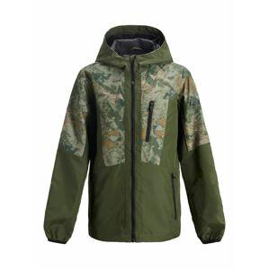 Jack & Jones Junior Přechodná bunda  olivová / khaki / mátová