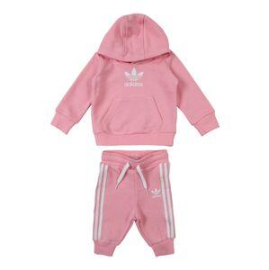 ADIDAS ORIGINALS Joggingová souprava  pink / bílá