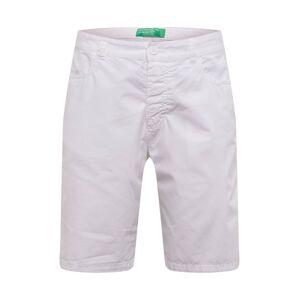 UNITED COLORS OF BENETTON Chino kalhoty 'BERMUDA'  bílá