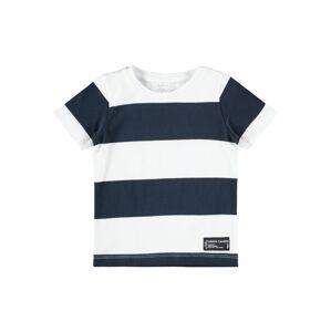 NAME IT Tričko  bílá / modrá