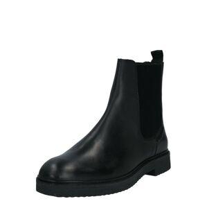 Hudson London Chelsea boty  černá