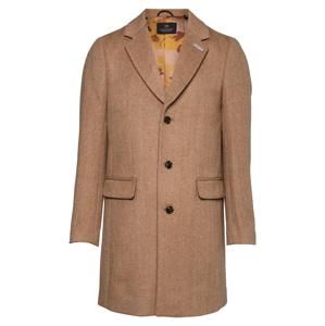 SCOTCH & SODA Přechodný kabát  hnědý melír