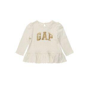 GAP Tričko  námořnická modř / zlatá / krémová