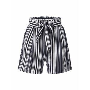 NEW LOOK Kalhoty 'VINNIE EMERALD'  černá / bílá