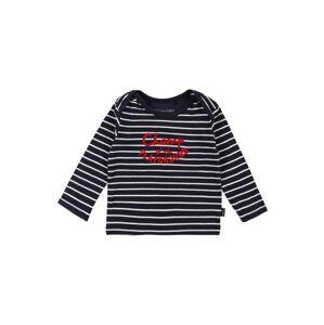 Noppies Tričko 'Hawston'  bílá / červená / tmavě modrá