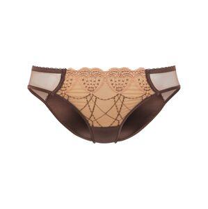 PALMERS Kalhotky 'Privée Bronze Emilie'  písková / hnědá