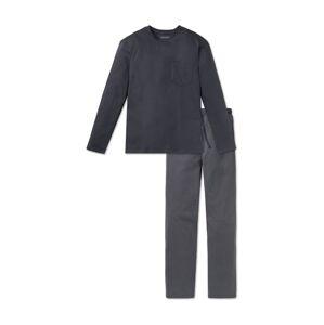 SCHIESSER Pyžamo dlouhé  antracitová