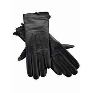 heine Prstové rukavice  černá
