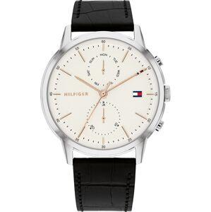 TOMMY HILFIGER Analogové hodinky  stříbrná / černá