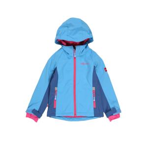 TROLLKIDS Outdoorová bunda 'Kristiansand'  tmavě modrá / světlemodrá / pink