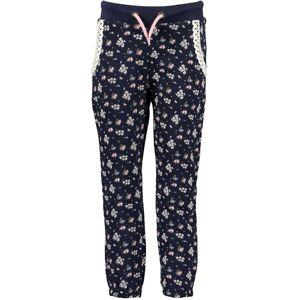 BLUE SEVEN Kalhoty  noční modrá / pink