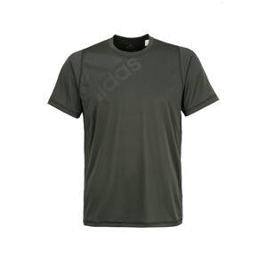 ADIDAS PERFORMANCE Funkční tričko 'Freelift Badge of Sport Graphic'  šedá / olivová