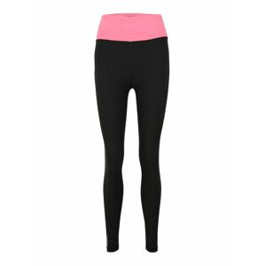 PUMA Sportovní kalhoty  černá / pink