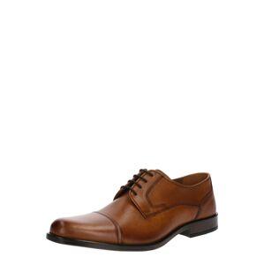 Pier One Šněrovací boty '7811'  koňaková