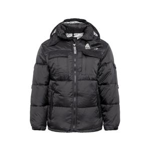 SOUTHPOLE Zimní bunda  černá / bílá / šedá