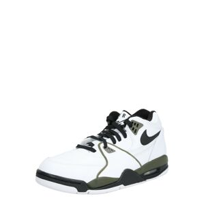 Nike Sportswear Kotníkové tenisky 'Air Flight 89'  černá / bílá / zelená