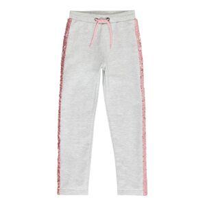 BLUE SEVEN Kalhoty  šedá / pink