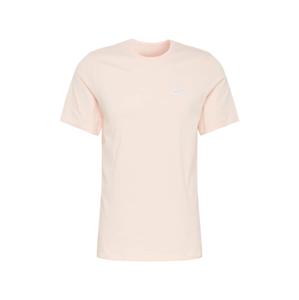 Nike Sportswear Tričko 'Club'  pudrová
